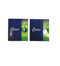 Elixir Guitar Strings 2-Pack Optiweb Electric Light 10-46 Great Tone - L... - $34.31