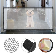 Dog Gate Mesh Isolation Network Pet Magic Gate Indoor Safe Guard and Ins... - $20.00