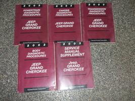 2003 Jeep Grande Cherokee Servizio Riparazione Shop Officina Manuale Di ... - $118.75