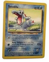 Pokemon Card -  Totodile - (81/111) Neo Genesis Set Common ***NM*** - $1.99