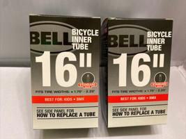 """2x Bike Inner Tube 16"""" Bell Standard Valve for Kids BMX Bikes - $14.98"""