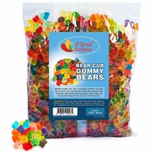 Bulk Gummy Bears Colorful 12 Tropical Fruit Flavors Party Candy 5 Lbs Pounds - $49.95