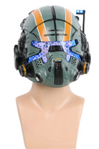 Titanfall 2 Jack Cooper Helmet Green Resin LED Eyes Mask for Halloween C... - $197.49 CAD