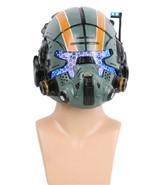 Titanfall 2 Jack Cooper Helmet Green Resin LED Eyes Mask for Halloween C... - $104.50