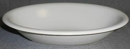 Franciscan Pottery SATIN WHITE Oval VEGETABLE/SERVING BOWL California - $19.79