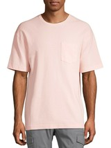 No Boundaries Men's Short Sleeve Thermal T-Shirt Pocket 3XL (54-56) Pink - $15.83