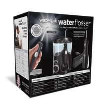 Water Flosser Waterpik Ultra plus Cordless Travel Combo Pack Black NEW  - $109.99