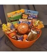 Football and Basketball Gift Basket - $50.00
