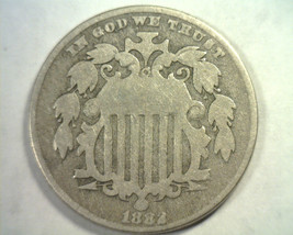 1882 SHIELD NICKEL VERY GOOD VG NICE ORIGINAL COIN FROM BOBS COINS FAST ... - $29.00