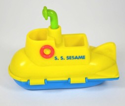 SESAME STREET Yellow SUBMARINE Toy 1996 TYCO Jim Henson - $11.98