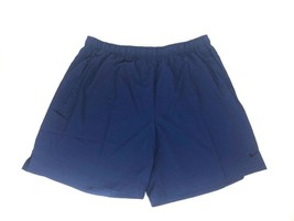 NIKE BIG & TALL Mens Dri-Fit Training Shorts Blue Void Black 4XL - NEW - $28.66