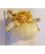 Round Angel by Delton vintage pre-owned ornament Christmas xmas Decoration - $12.07