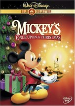 Disney Mickey's Once Upon a Christmas (DVD, 2003, Gold Collection Edition)