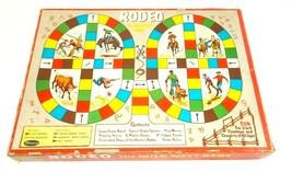 1957 RODEO THE WILD WEST GAME By WHITMAN Complete Board Game - $15.74