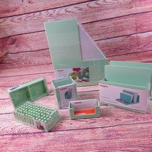 Poppin Mint Green Office Supplies Desk Accessories Set 6 Piece - €56,64 EUR