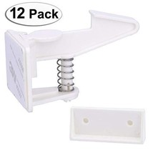 Cabinet Locks Child Safety Latches - VMAISI 12 Pack Baby Proofing Cabinets - $25.23