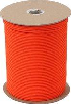 Safety Orange Nylon Paracord 1000 Feet Spools - $89.99