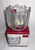 Mikasa Christmas Votive Candle Holder Winter Wonderland Collection WY007... - $4.90