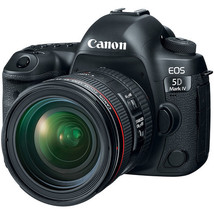 Canon EOS 5D Mark IV DSLR Camera with 24-70mm f/4L Lens - $3,602.59