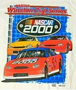 NASCAR Winston Cup Series 2000 Vintage Tee Graphic T-Shirt Size Large De... - $37.18