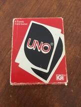 Vintage 1979 Uno Card Game 99% Complete International Games - $11.88