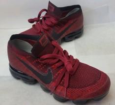 New Men's Nike Air VaporMax 2.0 Flyknit Deep Red 849558-601 Running Shoe... - $226.71