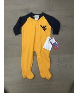 NWT Little King West Virginia Mountaineer 6-9 Month Infant Footed Pajama... - $15.00