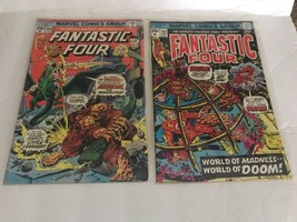 Fantastic Four #152 &160 Marvel Comics 1975 1974 Bronze Age - $15.00