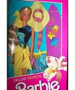 Deluxe Tropical Barbie Doll Mattel #2996 Department Store Special 1985 V... - $123.75