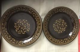 The California Craftsman Mid-Century Franciscan Jamoca Dinner Plates Set... - $19.80