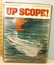 Up Scope! Tactical Submarine Warfare in the 20th Cent. SPI 1978 Punched - $39.11