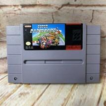 Super nintendo Mario Kart solo Cartuccia Video Gioco Pulito Testato Aute... - $39.88