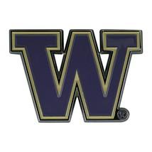 Fanmats NCAA Washington Huskies Diecast 3D Color Emblem Car Truck RV 2-4 Day Del - $10.64