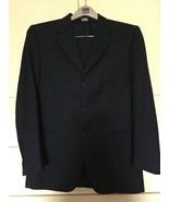 Men's Lanificio F.lli Cerruti Dal 1881 Custom Fit 3 Button Navy Suit (42R) - $51.43