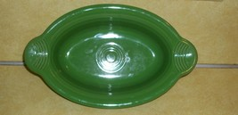 FIESTAWARE FIESTA SHAMROCK GREEN SERVING BOWL HANDLE OVEN DISH CASSEROLE... - $19.50