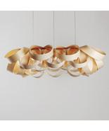 Gross X - Chandelier Lighting - Huge Chandelier - Dining Fixture - Wood ... - $899.00