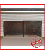Double Garage Door Screen Magnetic Closure Mosquito Net Insects Bugs Mesh Air - $37.23