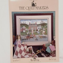 The Quilt Makers Cross Stitch Leaflet Stoney Creek 1990 RainDrop Horse O... - $16.99