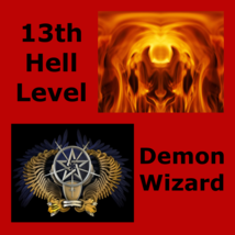 Spr Supreme Demon Wizard From Hell And His Dark Demon Army & Money Spell - $159.00