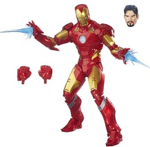 "IRON MAN Hasbro Marvel Legends 12"" Collector Series Action Figure Nib New - $33.95"