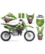 Dirt Bike Decalcomania Grafica Kit per Kawasaki Klx110l KLX 110l 10-18 Ossa - $89.29