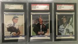 1984 Fleer #368 Bob Brenly Signed Autograph SGC Authentic San Francisco Giants - $11.30