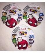 Lot of 3 Disney Marvel Tsum Tsum Mystery Pack Unopened Series 1 Free Ship - $10.50