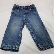 Blue Jeans Denim Girls Size 24 Months 2T Cherokee Straight Leg - $14.99