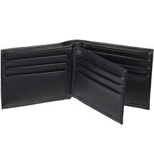 Levi's Black Bifold RFID Embossed Logo Credit Card ID Wallet for Men image 3