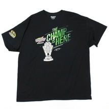 Neu Sprint Tasse Champion Hemd Größe XL Herren Schwarz Nascar T-Shirt Jo... - $17.72