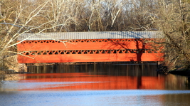 Sach's Covered Bridge 13 x 19 Unmatted Photograph - $35.00