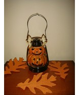 Halloween Candle Holder TII Collections Small Jack-O-Lantern  - $18.99