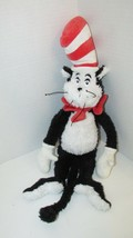 """Dr. Seuss Plush The Cat in the Hat Manhattan Toy Co shaggy furry 18""""  2001 - $8.90"""