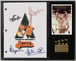 "Clockwork Orange Ltd Edition Reproduction Movie Script Cinema DISPLAY""C3"" - $85.45"